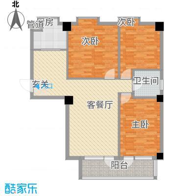 德泰时代广场121.00㎡德泰时代广场户型图1#、3#楼A户型3室2厅1卫1厨户型3室2厅1卫1厨