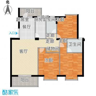联邦广场126.51㎡联邦广场户型图3室2厅2卫1厨户型10室