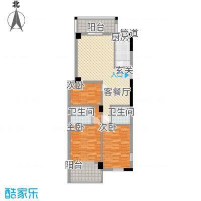 聚龙尚书院115.24㎡聚龙尚书院7#07(2-16层)户型10室
