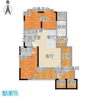 世纪绿洲二期 3室 户型图