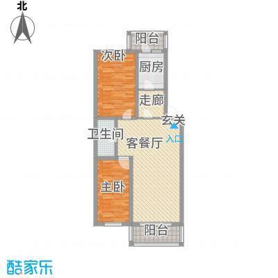 南棵绿荫小区82.71㎡南棵绿荫小区户型图2室1厅1卫1厨户型10室