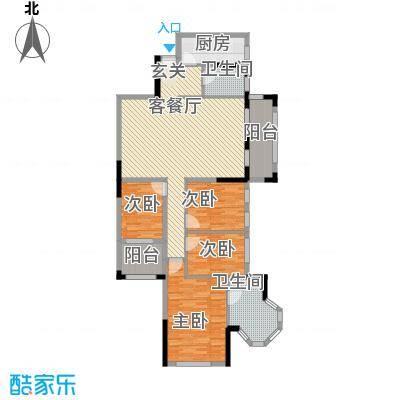 风度广场128.45㎡风度广场户型图16座03、04单位4室2厅2卫1厨户型4室2厅2卫1厨