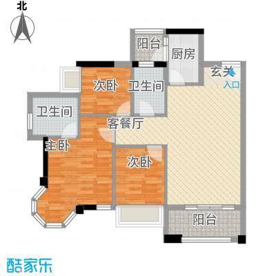 风度广场风度广场户型图12栋04户型户型10室