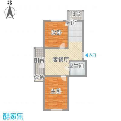 东辉明珠园116.00㎡东辉明珠园2室户型2室