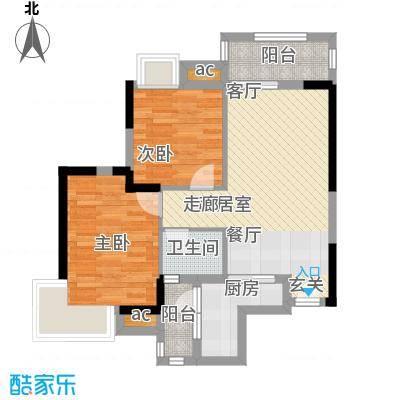 中惠沁林山庄74.00㎡中惠沁林山庄户型10室