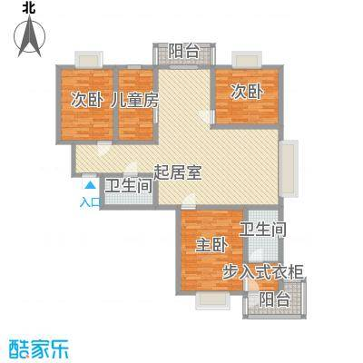 万水澜庭(西区)153.42㎡万水澜庭(西区)户型图1号楼A户型3室2厅2卫户型3室2厅2卫