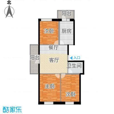 江畔方元128.00㎡江畔方元户型图高层3室1厅1卫1厨户型3室1厅1卫1厨