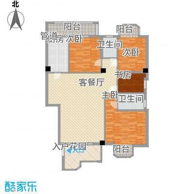 君汇华庭 3室 户型图