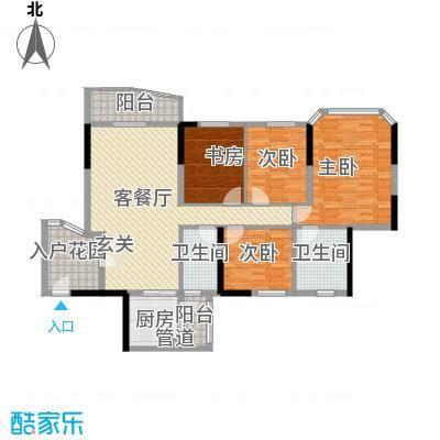 汇景二期(汇景银座) 4室 户型图