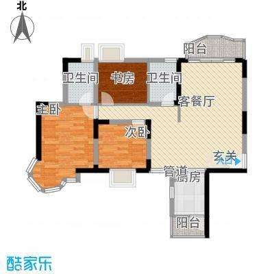 长青城 3室 户型图