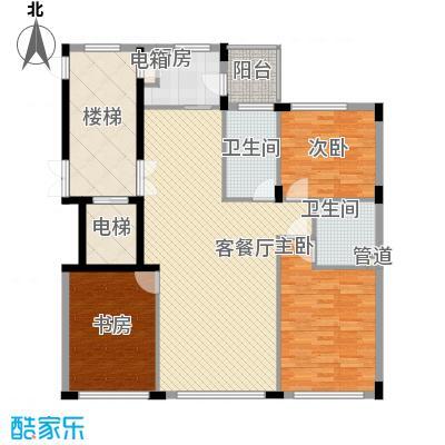 亿锋现代城129.44㎡亿锋现代城3室户型3室
