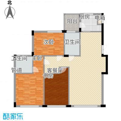 亿锋现代城145.36㎡亿锋现代城户型图亿峰现代城3室户型图3室2厅2卫1厨户型3室2厅2卫1厨