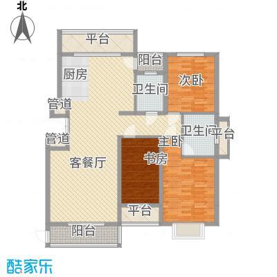 亿锋现代城139.92㎡亿锋现代城户型图亿峰现代城3室户型图3室2厅2卫1厨户型3室2厅2卫1厨