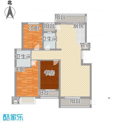 亿锋现代城140.44㎡亿锋现代城户型图亿峰现代城3室户型图3室2厅2卫1厨户型3室2厅2卫1厨