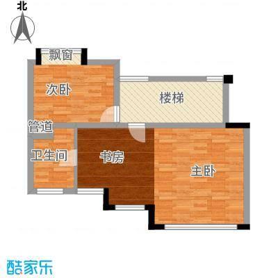 顺德碧桂园顺德碧桂园户型图D3506户型02单位二层户型10室
