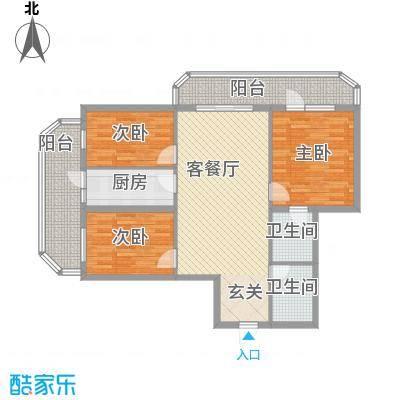 皇家新景241.47㎡皇家新景户型图3室1厅2卫1厨户型10室