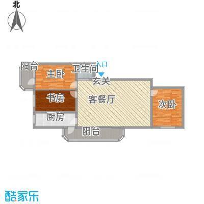 皇家新景180.78㎡皇家新景户型图3室1厅1卫1厨户型10室