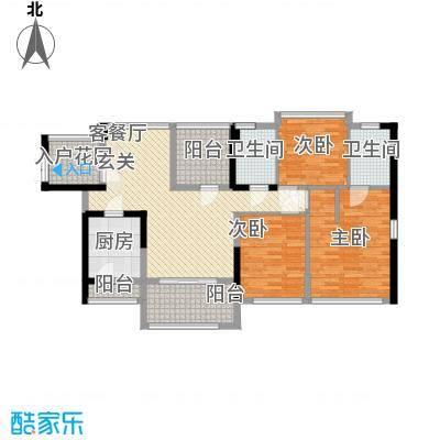 佳兆业水岸豪门115.00㎡佳兆业水岸豪门户型图7-9栋2-30层02/03单位紫金户型3室2厅2卫2厨户型3室2厅2卫2厨