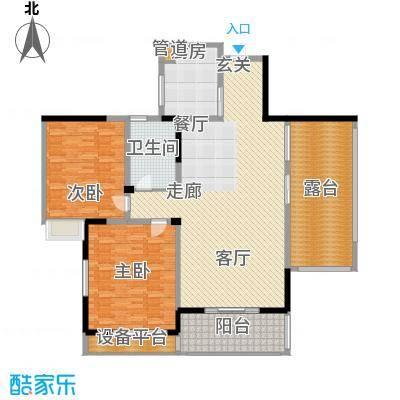 康湖山庄168.00㎡康湖山庄4室户型4室