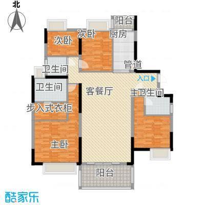 鹿�村145.00㎡鹿�村3室户型3室