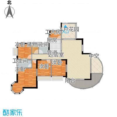 皇家公馆158.93㎡皇家公馆户型10室