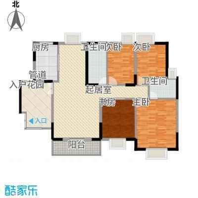 皇家公馆163.74㎡皇家公馆户型10室