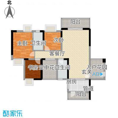 鼎盛时代广场 0室 户型图