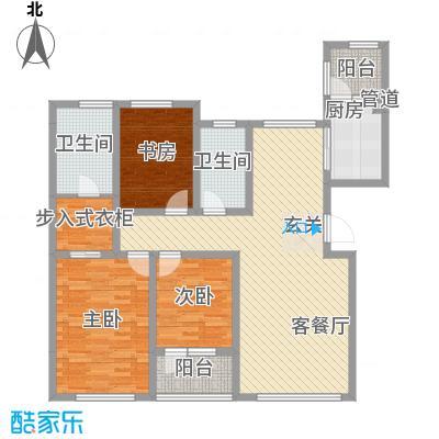恒瑞大湖山语恒瑞大湖山语户型图A.三室两厅两卫户型10室