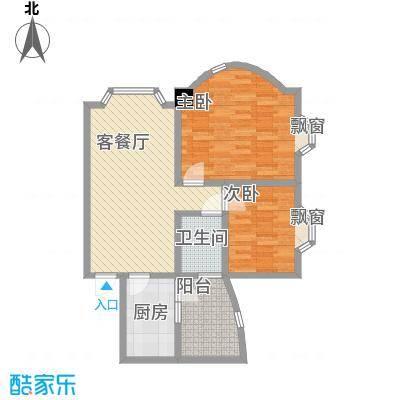荔景山庄89.00㎡荔景山庄户型图2室2厅1卫1厨户型10室