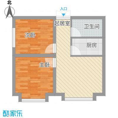 幸福BOX49.84㎡幸福BOX户型图C户型2室1厅1卫1厨户型2室1厅1卫1厨
