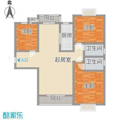 万水澜庭(西区)149.35㎡万水澜庭(西区)户型图3号楼C户型3室2厅2卫户型3室2厅2卫