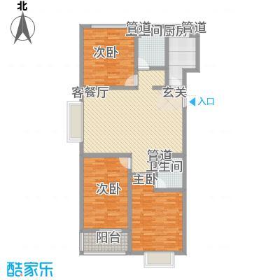 龙康・青年城138.19㎡龙康・青年城户型图户型(七)3室2厅2卫户型3室2厅2卫
