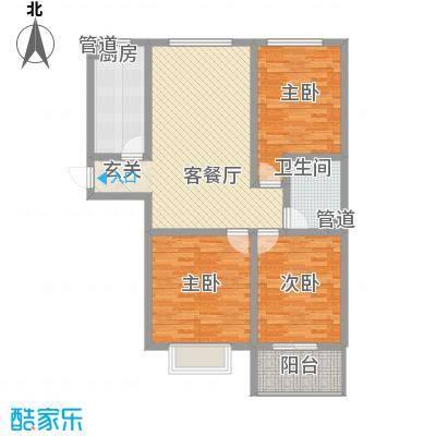龙康・青年城120.69㎡龙康・青年城户型图户型(六)3室2厅1卫户型3室2厅1卫