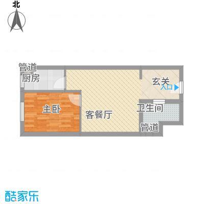 龙康・青年城54.67㎡龙康・青年城户型图户型(一)1室1厅1卫户型1室1厅1卫
