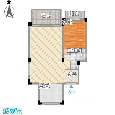 海畔名苑海畔名苑户型图84平方米2室2厅户型2室2厅