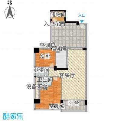 富怡名居128.00㎡富怡名居户型图9-11栋标准层01、02户型2室2厅3卫户型2室2厅3卫