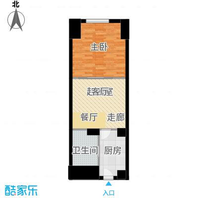 MINI印象50.00㎡MINI印象户型图A塔楼B户型1室1厅1卫1厨户型1室1厅1卫1厨