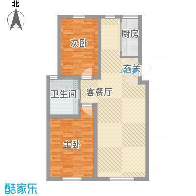 弘基书香园二期弘基书香园二期2室户型2室