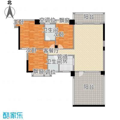 富怡名居154.00㎡富怡名居户型图9-11栋标准层03、04户型3室2厅2卫户型3室2厅2卫