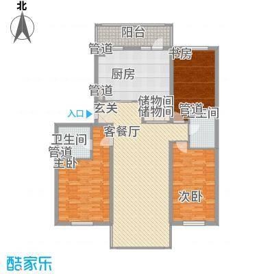 世纪花园114.13㎡哈尔滨世纪花园户型10室