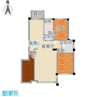 华夏海景148.65㎡华夏海景户型图3室2厅2卫1厨户型10室