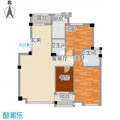 华夏海景137.30㎡华夏海景户型图3室2厅2卫1厨户型10室