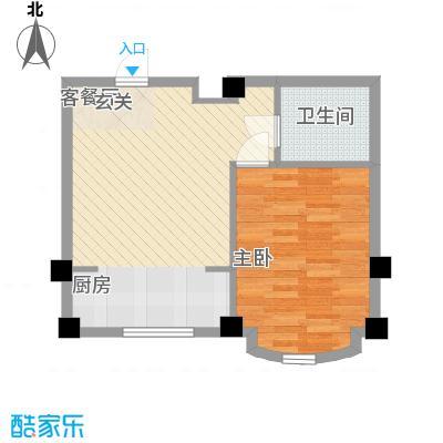 文华园56.00㎡文华园户型图1室1厅1卫1厨户型10室