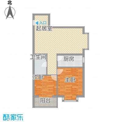 东润花园(北京新干线二期)92.45㎡东润花园(北京新干线二期)户型图16#(东)B户型2室2厅1卫1厨户型2室2厅1卫1厨