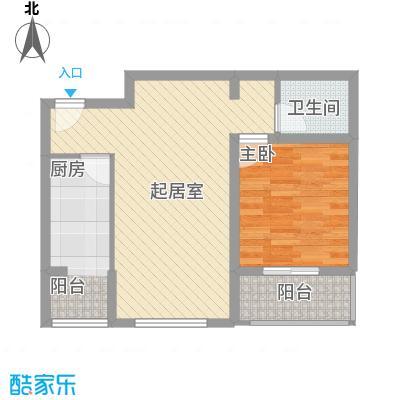 东润花园(北京新干线二期)67.31㎡东润花园(北京新干线二期)户型图15#楼-C户型2室2厅1卫1厨户型2室2厅1卫1厨