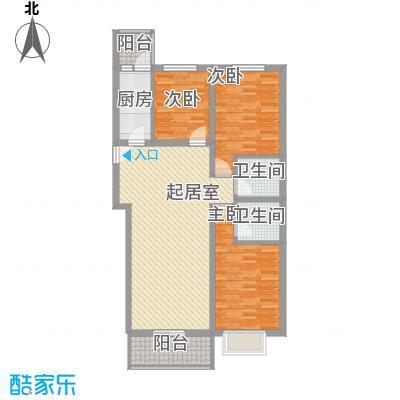 东润花园(北京新干线二期)117.56㎡东润花园(北京新干线二期)户型图15#楼-D户型3室2厅2卫1厨户型3室2厅2卫1厨