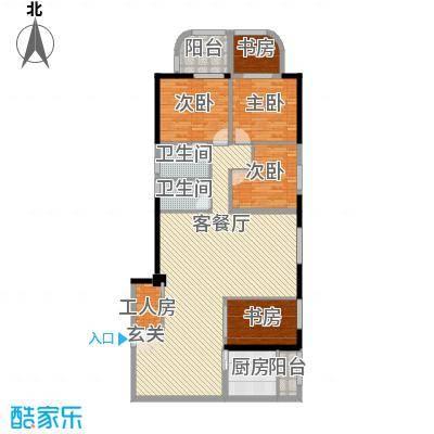 锦绣福城162.00㎡锦绣福城户型图4室2厅2卫户型10室
