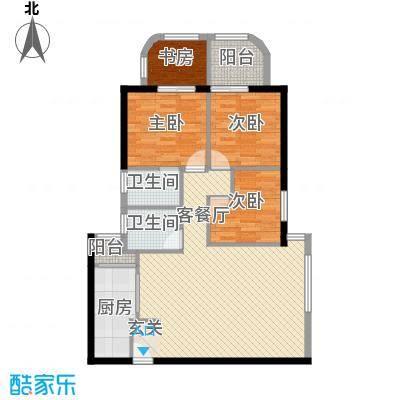 锦绣福城112.00㎡锦绣福城户型图3室2厅2卫户型10室
