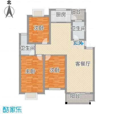 碧玉名居碧玉名居户型图[5)KB_6B6DOHHPY5]WRF2073室户型3室