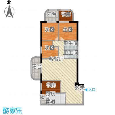 锦绣福城154.00㎡锦绣福城户型图4室2厅2卫户型10室